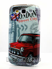 for Samsung galaxy i9300 s3 S III hard case cover London souvenir red car cool