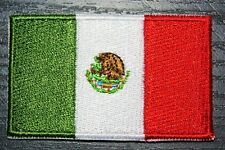 MEXICO Mexican Country Flag Embroidered PATCH Badge *NEW*