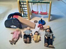 Dolls House Furniture Swings Slide Rope ladder Job lot