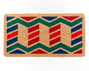 Zerbino cocco ingresso entrata antiscivolo 33x60 tappeto esterno porta robusto