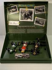 Scalextric C4184a le Génie de Colin Chapman Lotus F1 Triple Set