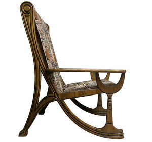 A&O Art Nouveau style, Chardonnay chair Alexadrol wingback chair