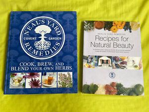 Neal's Yard Remedies 2 books