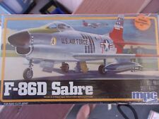 MPC F-86D Sabre Fighter Jet Airplane 1/72  Model Kit 1-4101 Sealed