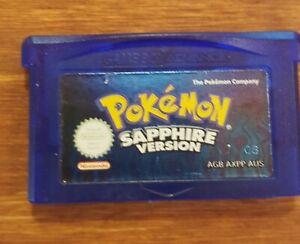 Pokemon Sapphire Version Gameboy Advance