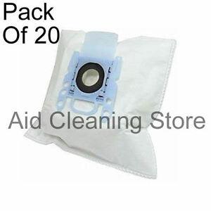 For Bosch BBS BSA BSD BSG GL30 GL50 Series Bags Pk Of 20 + 4 filter 4xA234