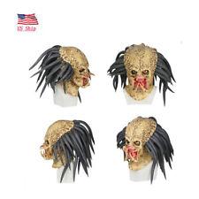 US! Predator Helmet Props Antenna Halloween Cosplay Mask Party Horror Xcoser HOT