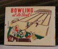Rare Vintage Matchbook X2 Appleton Wisconsin Blowing 41 Bowl For Health Best