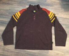DR MARTENS AIR WAIR 3 button pull over sweater sweatshirt shirt Large ware rare
