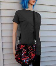 Deadpool Cross Body Purse Messenger Bag Licensed Fabric
