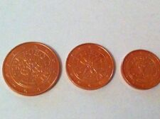 DESTOCKAGE : PIECES  1+2+5  CT  AUTRICHE  ANNEE  2005  NEUVES
