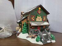 Dept 56 Original Snow Village Series 1998 ROCK CREEK MILL HOUSE 54932 Retired