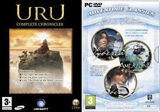 URU COMPLETE CHRONICLES & Siberia 1 & 2 PLUS AMERZONE