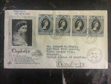 1953 Seychelles First Day Souvenir Cover QE II Queen Elizabeth coronation FDC