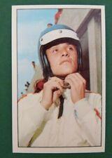 N°249 ICKX JACKY BELGIQUE PANINI 1972 HISTOIRE DE L'AUTOMOBILE PILOTE COURSES F1