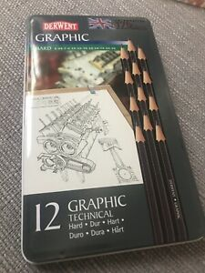 Derwent Graphic Hard Pencils New