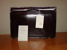 Avenues in Leather Executive Briefcase Classic Burgundy Multi-Pocket BRAND NEW!
