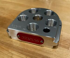 Dillon XL 650/750 Precision Machined Billet Aluminum Toolhead, Made in the USA