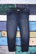 Piper's Closet Dark Wash Stretch Flap Back Pocket Skinny Jeans Junior's Plus 25
