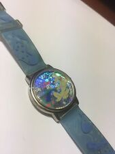 RARE Disney Innovative TIme Watch Pluto & Jack In The Box Mickey Mouse