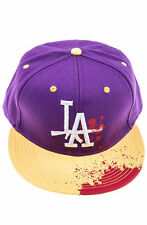 LA Snapback Hat - Radii - Purple / Gold - Brand New - Free Fast Shipping