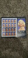 1995 US Scott #2967 Legends of Hollywood 'Marilyn Monroe' Sheet of 20 Stamps NNH
