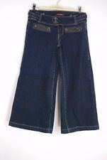 Juniors Hot Kiss Wide Leg Culottes Gaucho Cropped Jeans - Size 3 (26)