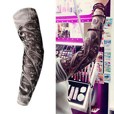 Men Male Temporary Fake Slip On Tattoo Arm Sleeve Nylon Cool 1pc