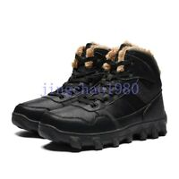 Mens Sport Lace Up Round Toe Comfortable Athletic Winter Warm Shoes Outwear Chic