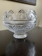 Waterford Crystal Large Footed Punch Bowl