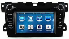 In Dash 2 Din Car Stereo Radio MP3 CD DVD Player GPS Navigation For MAZDA CX-7