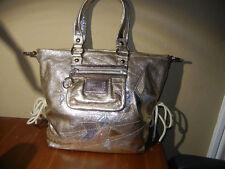 Coach Poppy Spotlight Gold Star Purse Handbag