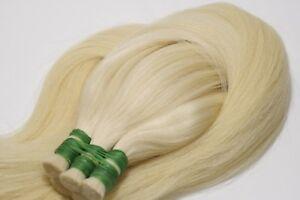 Natural bulk hair extensions blond, 22 inch (55 cm), 150 gr (5,29 oz)