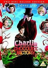 Charlie & The Chocolate Factory (2 Disc Deluxe Edition) [DVD] [2005] By Johnny