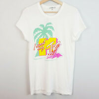 JUNK FOOD | Womens I WANT MY MTV Graphic Tee / Top [ Size L / AU 14 / US 10 ]