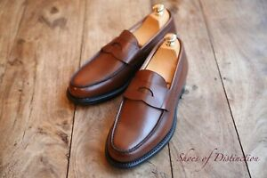 Men's Church's Brown Leather Loafers Shoes UK 7 US 8 EU 41