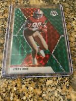 2020 PANINI MOSAIC FOOTBALL JERRY RICE  GREEN PRIZM #178 SAN FRANCISCO