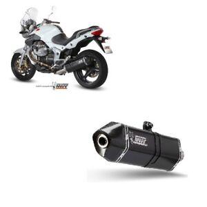 Silencieux Tuyau D'Échappement MIVV Speed Edge Black Moto Guzzi Breva