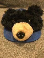 Baseball Cap Bear Head