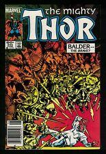 Marvel Comics MIGHTY THOR Vol 1 No 344 Malekith 1st App Dark World VF- 7.5