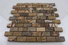 Rainforest Brown Mosaic (échantillon) pour salle de bain cuisine poli