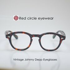 Retro Vintage Johnny Depp Eyeglasses mens Tortoise glasses optical eyeglass M