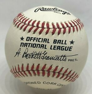 Official OMLB Bart Giamatti Unsigned Baseball