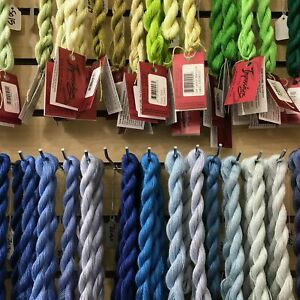 Caron Collection Impressions 36 yd skein threads embroidery lace weight