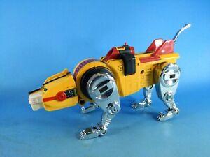 Vintage Voltron 1981 Yellow Lion Diecast Robot