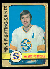 1972 73 OPC O PEE CHEE WHA 296 WAYNE CONNELLY VGEX MINNSOTA FIGHTING SAINTS CARD