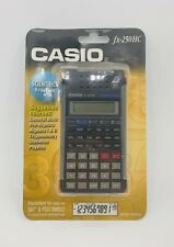 Casio Fx-250Hc Scientific Fraction Electronic Calculator New Sealed Statistics
