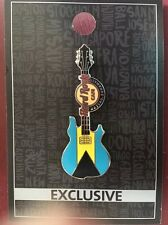 Hard Rock Cafe Exclusive Limited Edition Nassau Bahamas Guitar Flag Pin NEW