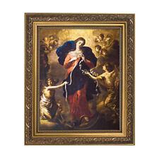 Ornate Gold Frame Our Lady Undoer of Knots