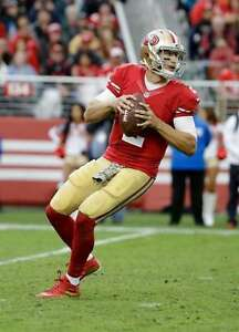 BLAINE GABBERT 8X10 PHOTO SAN FRANCISCO FORTY NINERS 49ers PICTURE NFL FOOTBALL